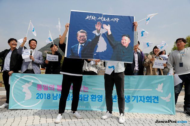 perang korea, kim jong un, moon jae in,