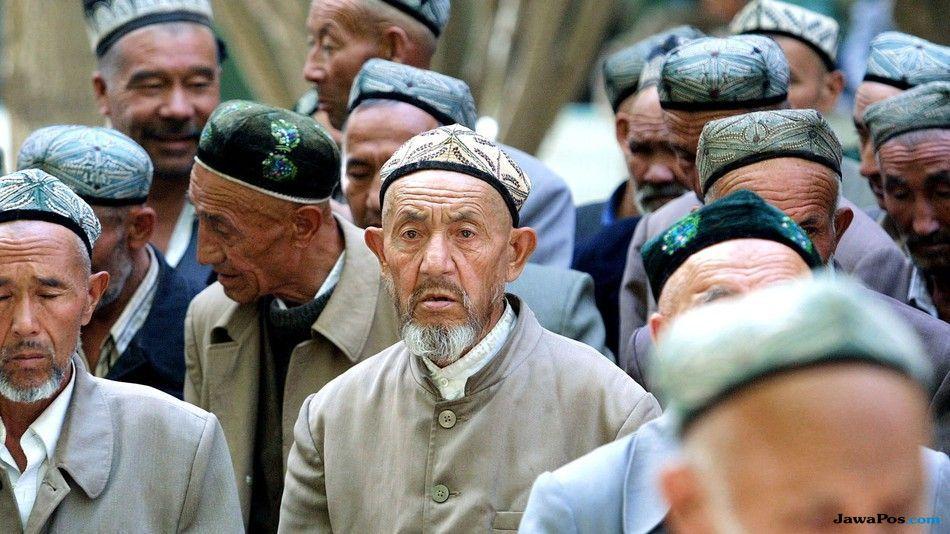 muazin, uighur, tiongkok,