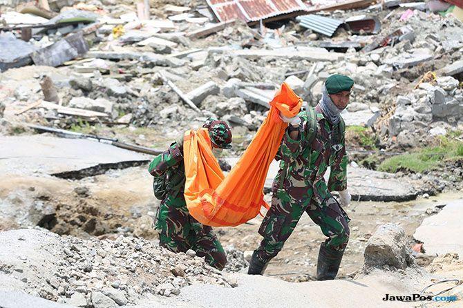 Kondisi Terkini Korban Gempa Sulteng, 1.763 Orang Meninggal