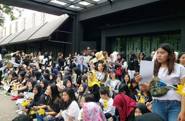 Puluhan VIP Berkumpul di SCBD Lot 8 Doakan Seungri