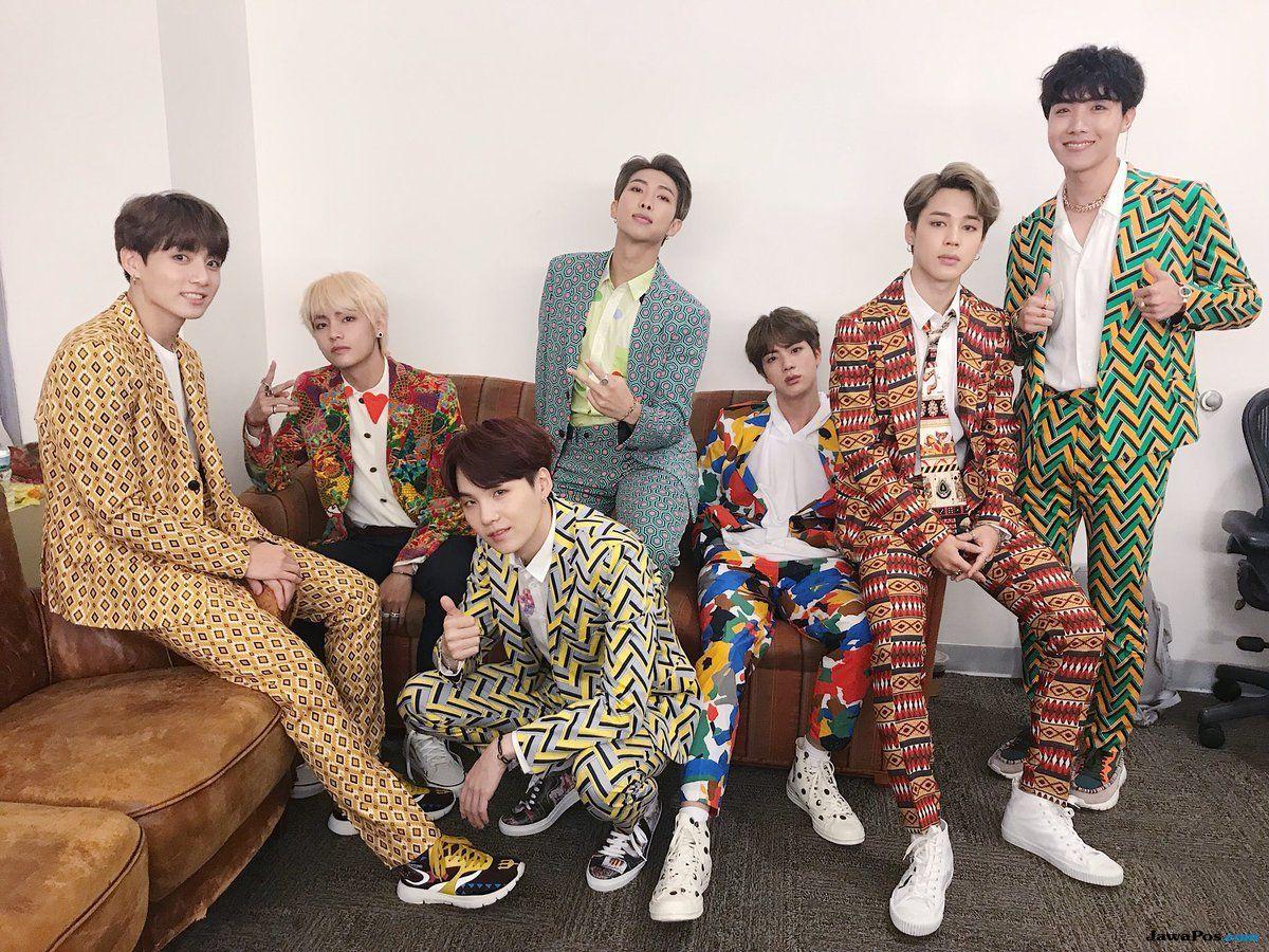 Konser di Amerika, BTS Dilempar Benda Asing oleh Penggemar