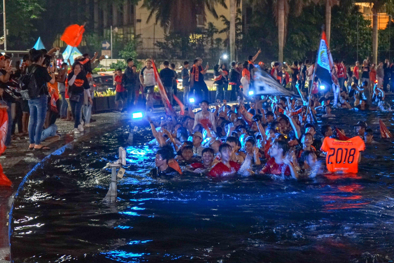 Konvoi Kemenangan Persija, Dua Jalan Ini Ditutup