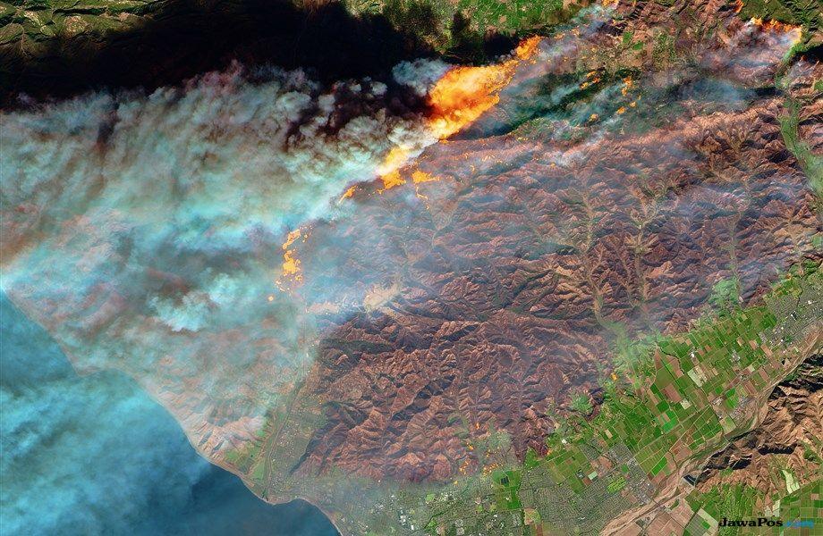 kebakaran kalifornia, kalifornia, AS, kebakaran,