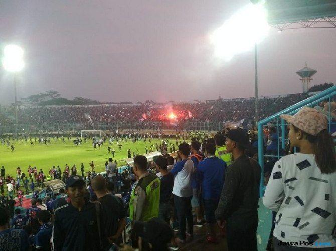 Arema FC, Persebaya Surabaya, Liga 1 2018, Aremania