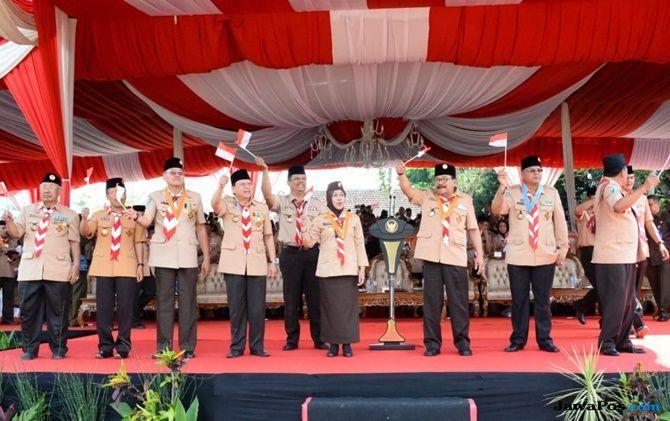 Libatkan Pramuka, Soekarwo Apresiasi Program KPN 2018