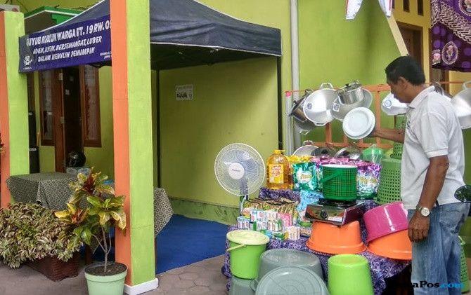 Maksimalkan Pemilih, TPS di Bojonegoro Sediakan Undian Berhadiah