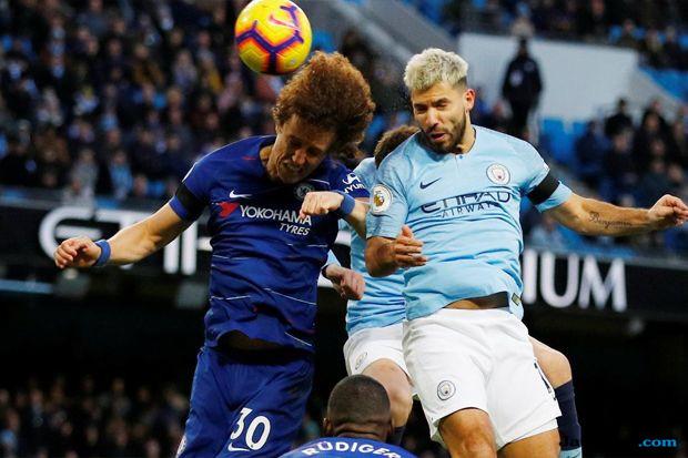 Premier league 2018-2019, Liga inggris, Manchester city, Chelsea, Manchester City 6-0 Chelsea