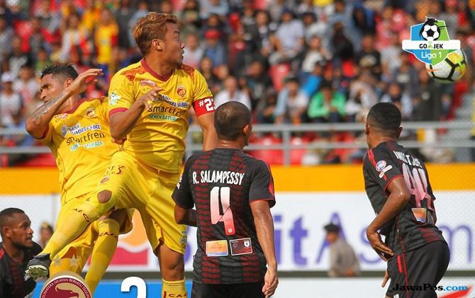 Persipura Jayapura, Sriwijaya FC, Liga 1 2018