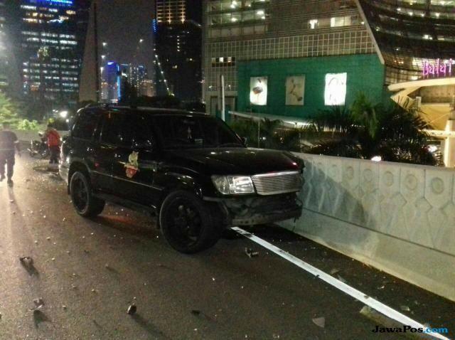 Marko Simic Tabrak Mobil Polisi yang Sedang Berhenti