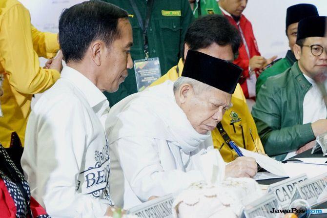 Ma'ruf Amin Beberkan Bentuk Hormatnya Jokowi Kepada Ulama