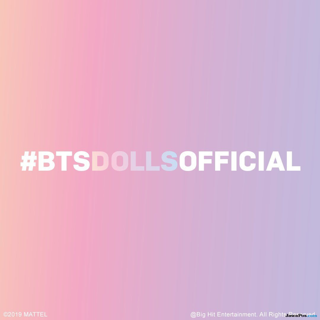 Mattel Akan Buat Boneka Fashion Barbie ala BTS Lewat BTS Doll Official
