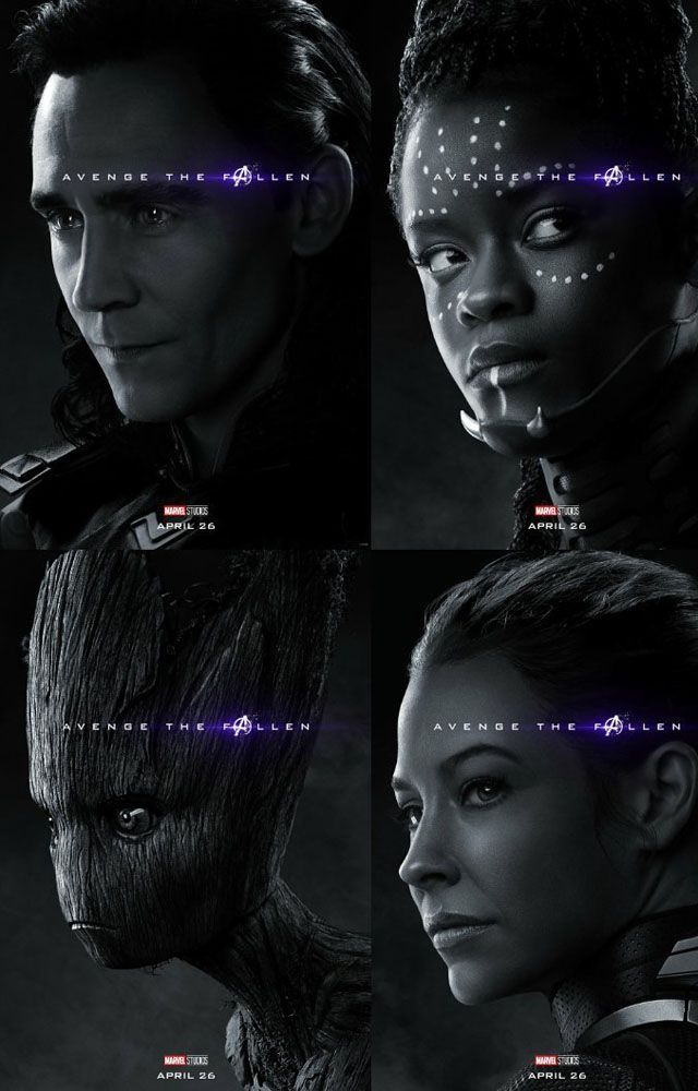 Melalui Poster Terbaru Karakter di Avengers: Endgame Terkuak