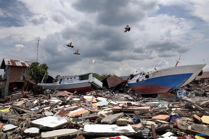 Melihat Desa Kapal yang Teseret Tsunami Hingga ke Desa Wani