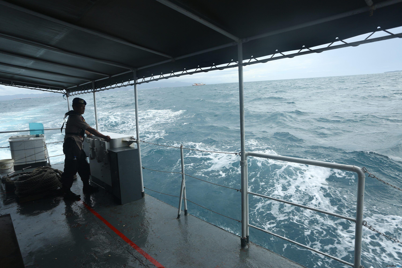 Mengikuti Ditpolairud Mencari Korban Tsunami Saat Anak Krakatau Siaga