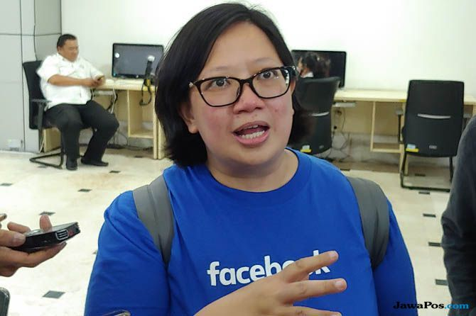 Putri Dewanti faebook, kominfo facebook pilpres, facebook pilpres