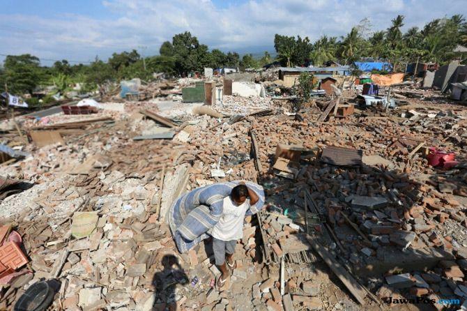 Mensos Berganti, Pemberian Santunan untuk Korban Gempa Lombok Aman
