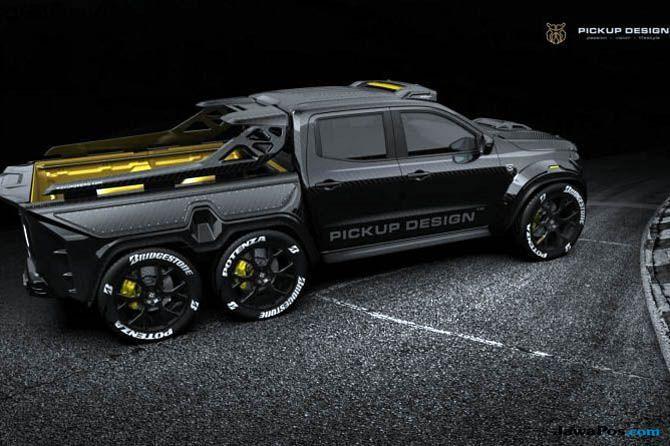 Mercedes Siapkan Monster Seri X-Class Jadi Raja di Kelas Pick Up