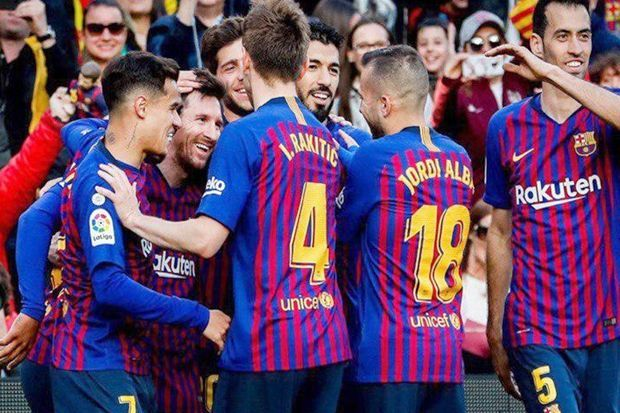 Messi Ciptakan Rekor Baru, Barcelona Berjaya Lagi di Derby Catalan