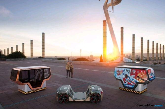 microSNAP, Mobil Cerdas dari Swiss, Bisa Bicara dengan Manusia