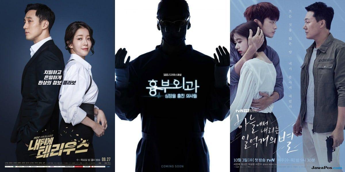 Musim Gugur 2018, Slot Drama Korea di Rabu-Kamis Bersaing Panas