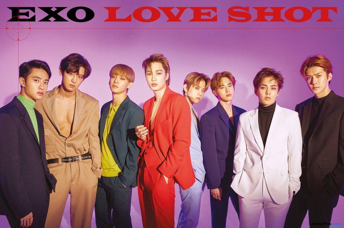Nama Louis Tomlinson Masuk Dalam Daftar Komposer Love Shot Milik EXO