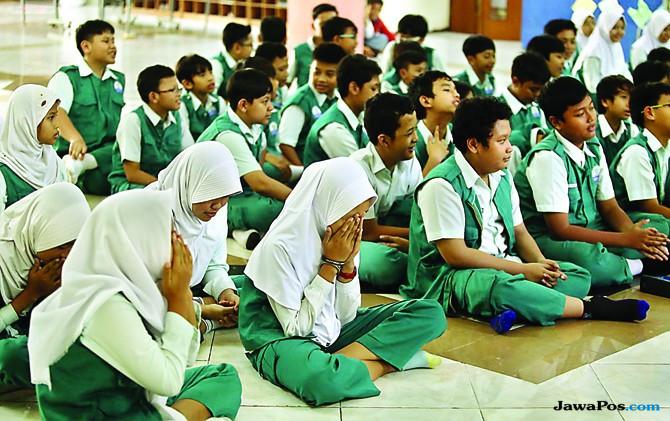 Nilai Ujian Sekolah Dasar untuk Daftar SMP