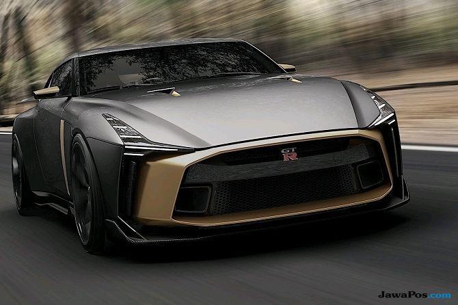 Nissan GT-R50: Tampil Agresif ala Supercar Italia