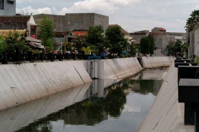 Normalisasi Kali Pepe dan Bengawan Solo, Warga Kini Terhindar Banjir