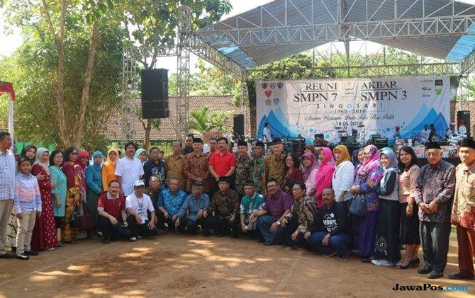 Nostalgia di SMP, Panglima TNI Ingat dengan Pedagang Kantin Sekolah