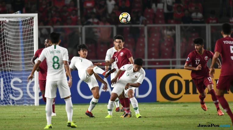 Timnas U-19, Timnas U-19 Indonesia, Piala Asia U-19 2018, Qatar
