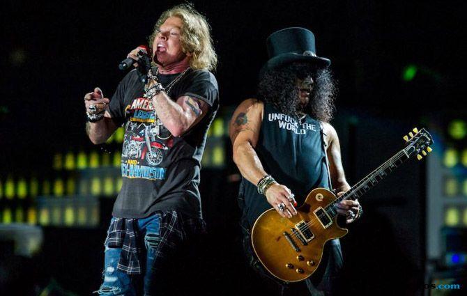 Panggung Rampung, Guns N' Roses Tak Sabar Goncang Jakarta