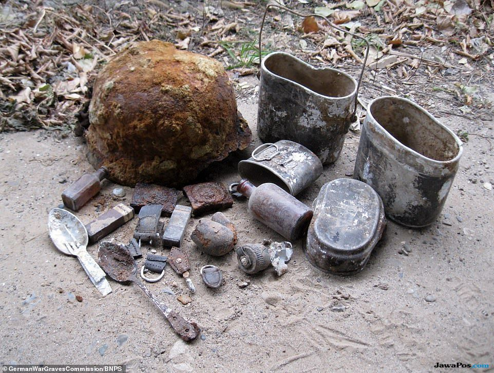 kuburan masal tentara jerman, tentara jerman, stalingrad,