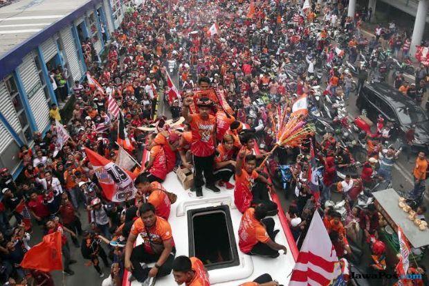 Liga 1 2018, Persija Jakarta, Konvoi gelar juara, Macan Kemayoran, The Jakmania