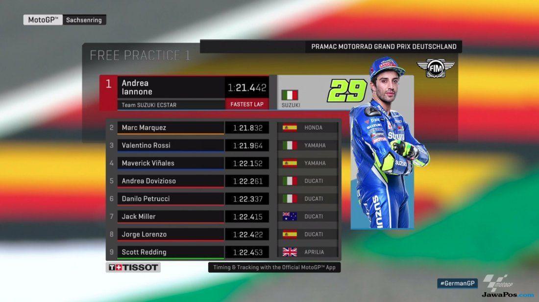 Andrea Iannone, MotoGP Jerman, Suzuki
