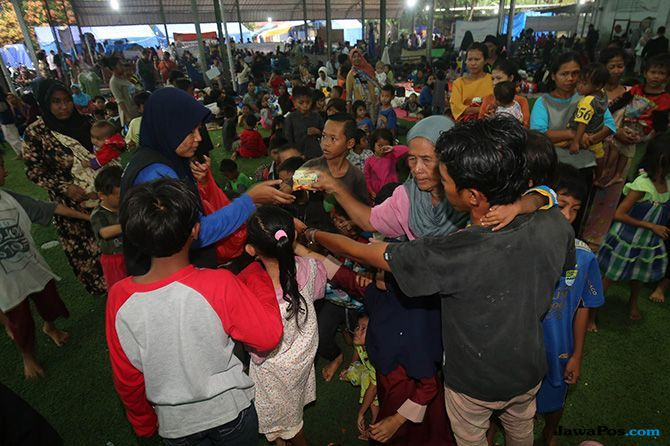 Pemerintah Belum Siapkan Penampungan Baru untuk Pengungsi