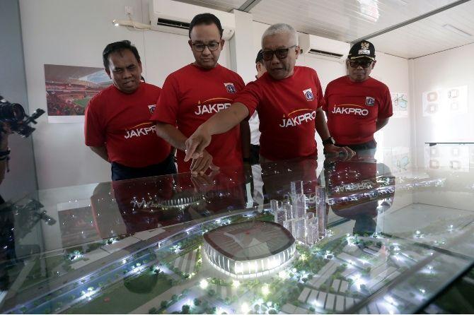 Persija Dukung Penuh Pembangunan Jakarta International Stadium