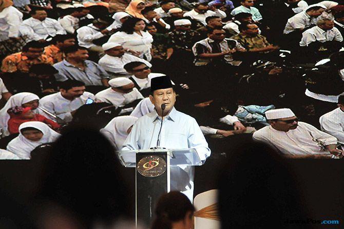 Pidato Prabowo di Depan Penyandang Disabilitas, Kalian Masih Terjajah!