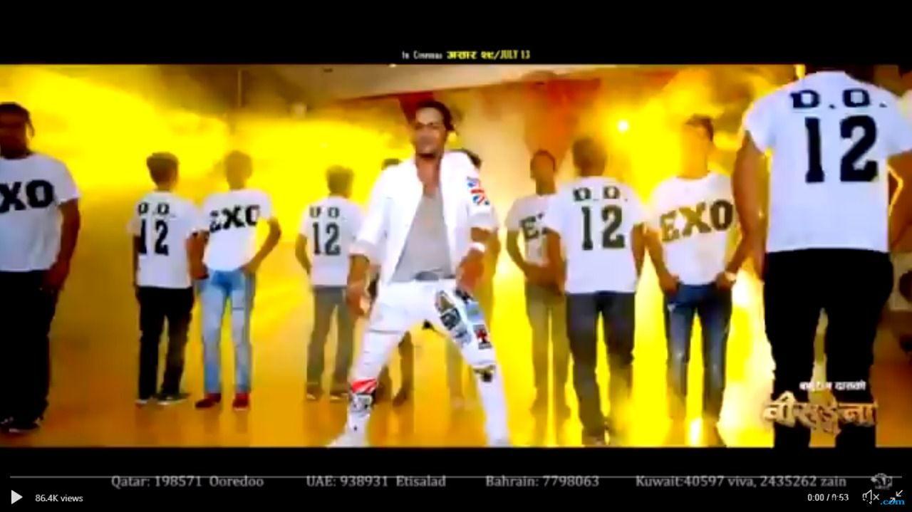 Popularitas Meroket, D.O EXO Muncul di Musik Video Nepal