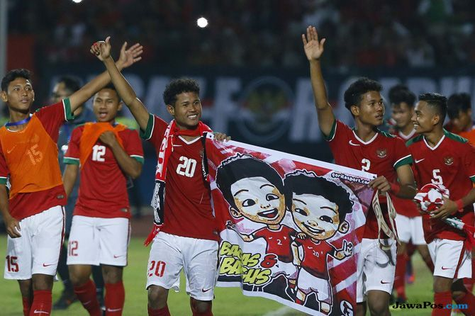 Timnas U-16 Indonesia, Piala AFF U-16 2018, Piala AFF U-16, Thailand