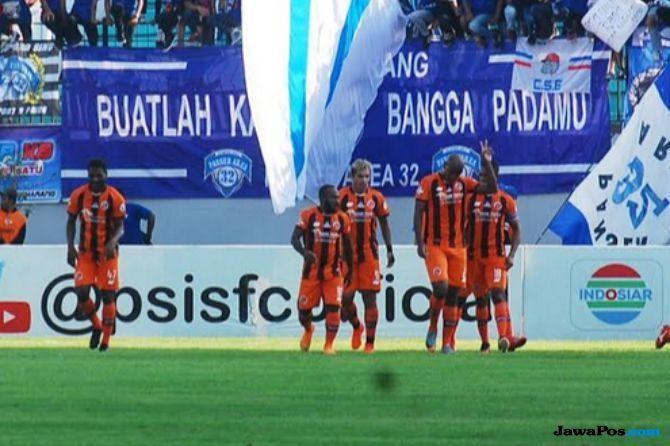 Perseru Serui, Persela Lamongan, Liga 1 2018, Stadion Marora