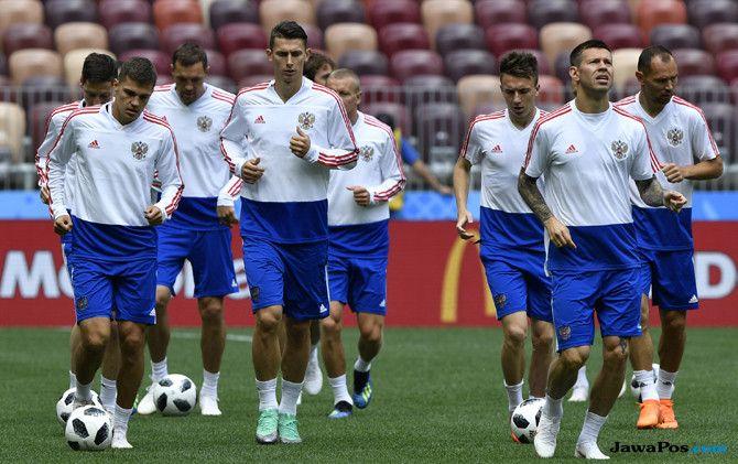 Prediksi Rusia vs Arab Saudi, Piala Dunia 2018, Timnas Rusia, Timnas Arab Saudi