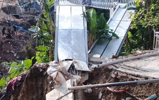 Proyek Underpas Longsor, Listrik di Kota Medan Padam