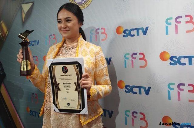 Raih Penghargaan FFB, Marshanda Dedikasikan untuk Anak