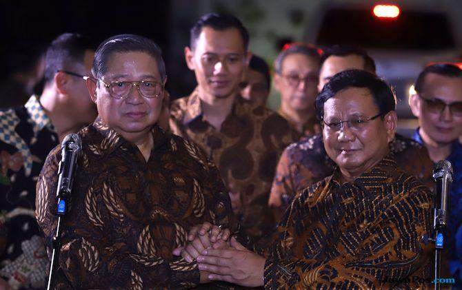 SBY dan Prabowo