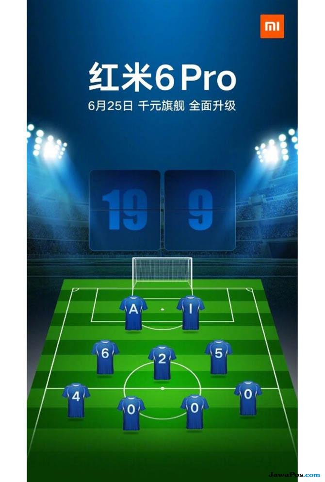 Redmi 6 Pro, Xiaomi Redmi 6 Pro, spesifikasi Redmi 6 Pro