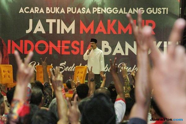 Relawan Pendukung Jokowi Satukan Dukungan Menangkan Gus Ipul-Puti
