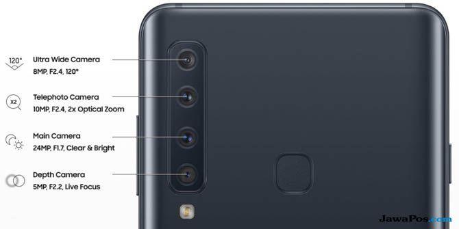 Samsung Galaxy A9, Galaxy A9 Empat Kamera, Samsung Galaxy A9 Indonesia