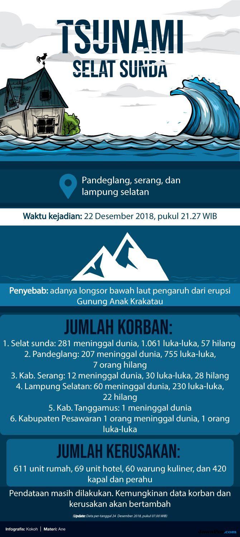 Tsunami Anyer, tsunami Selat Sunda, Kemenpora