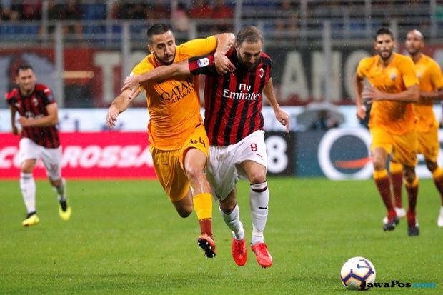Liga Italia, Serie A 2018-2019, AC Milan, AS Roma, AC Milan vs AS Roma