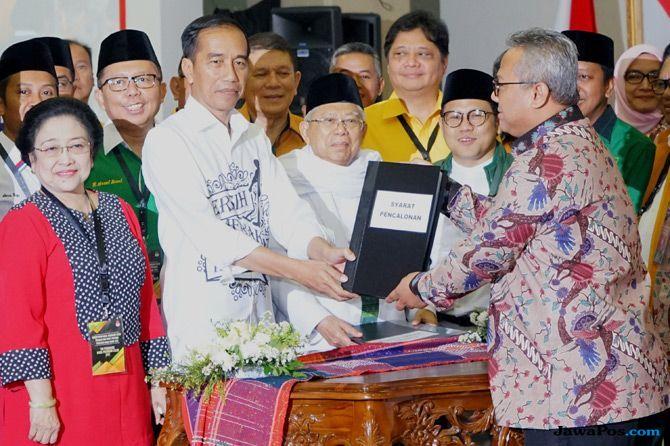 Sering Puasa, Jokowi-Ma'ruf Amin Santai Hadapi Tes Kesehatan